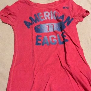 American eagle logo shirt